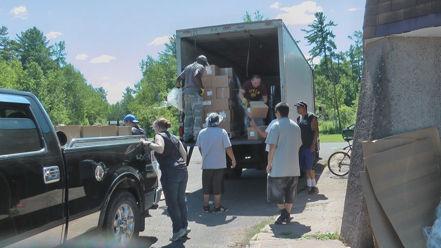 Indian Country Sends Truckloads of Love