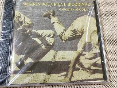 Mestre Boca Ria E Bigodinho, Capoeira Angola