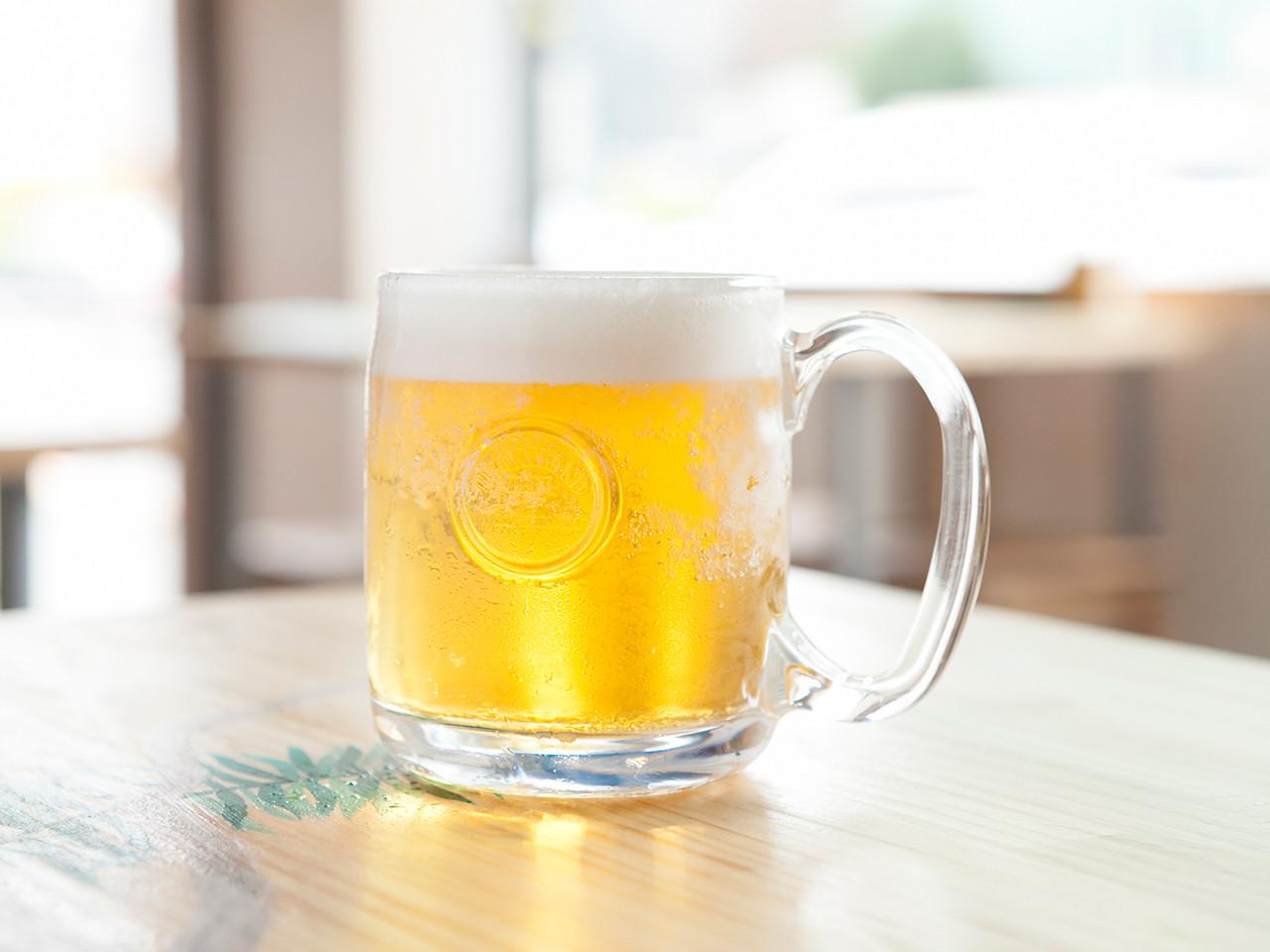 Heartland Draft beer