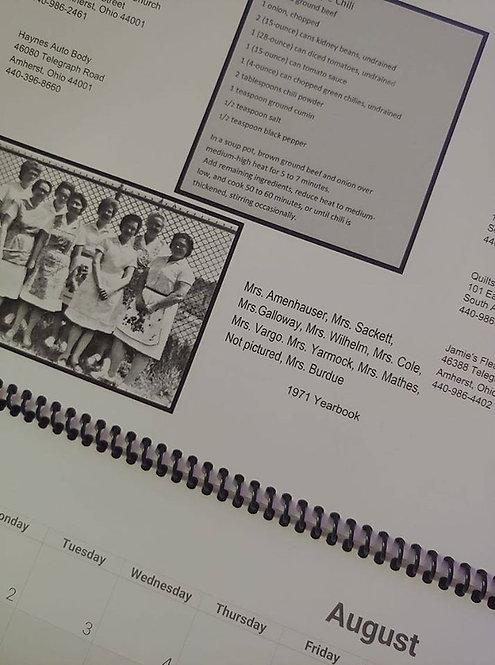 South Amherst historical Society 2021 Calendar