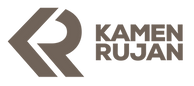 Kamen Rujan marble logo
