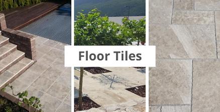 Rujan marble floor tiles