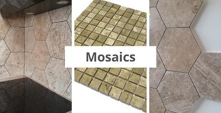 Rujan marble mosaic