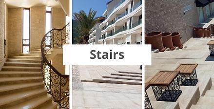 Rujan marble stairs