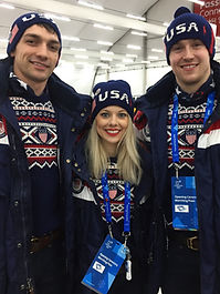 Alexa Scimeca Knierim, Chris Knierim, Tucker West