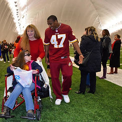 Akeem Davis, Redskins, Undrafted, DLE Agency, Public Relations