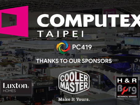 PC419 is going to Computex Taipei 2018!