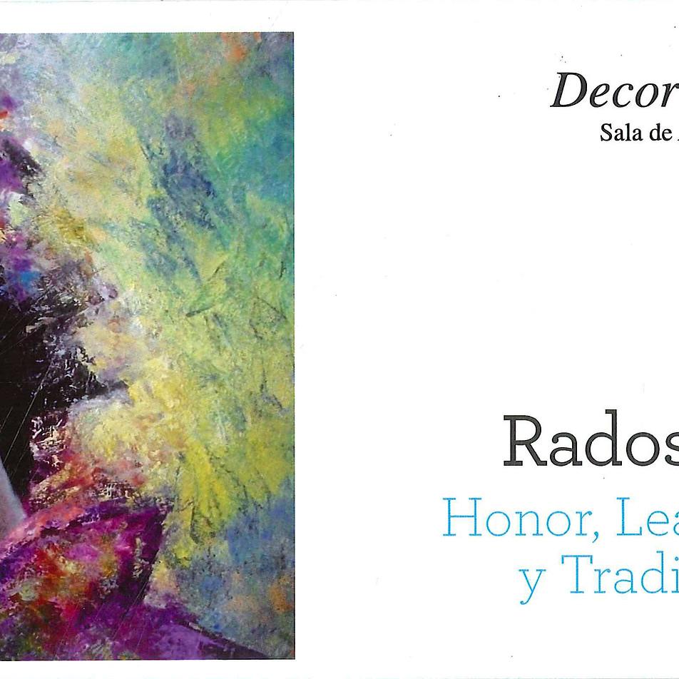 """Flayer de la exposición """"Honor, lealtad y tradición"""""""