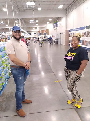 Mr. Ivory Sams Club Store Manager, Katy