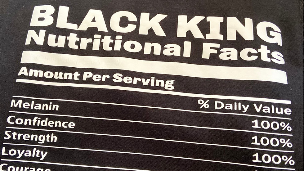 BLACK KING.... Nutritional Facts