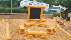 Outdoor Magnetic Chalkboard