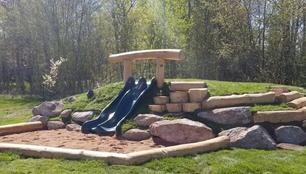 5 foot Hill Slide