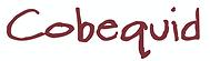 Cobequid lettering
