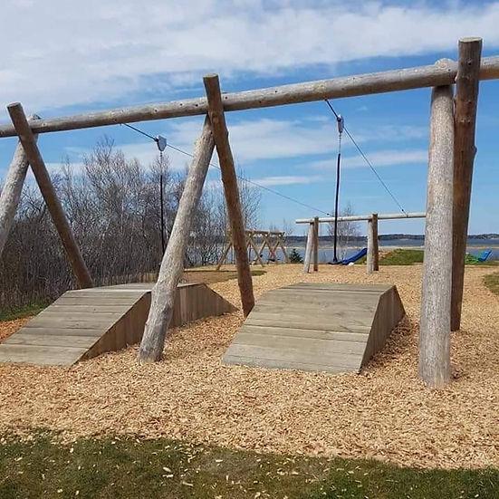 Pictou Landing First Nation Zipline