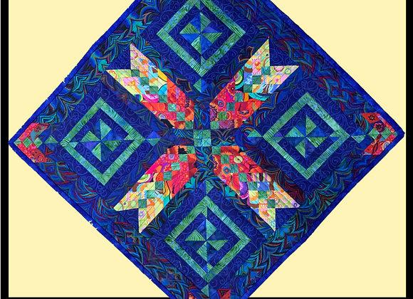 Pinwheel Braid Little Quilt Pattern Download