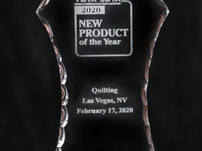 Our Ruler Racks made Product of the Year!