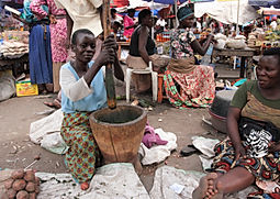 Market day in Kasese