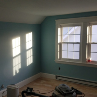 Drywall after pic
