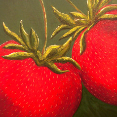 Lover Of Strawberries-Contemporary Art Painting