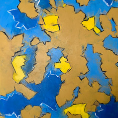Separate Corners-Abstract Painting-Contemporary Art