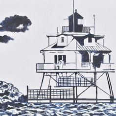 Thomas Point Lighthouse-Annapolis-Contemporary Art