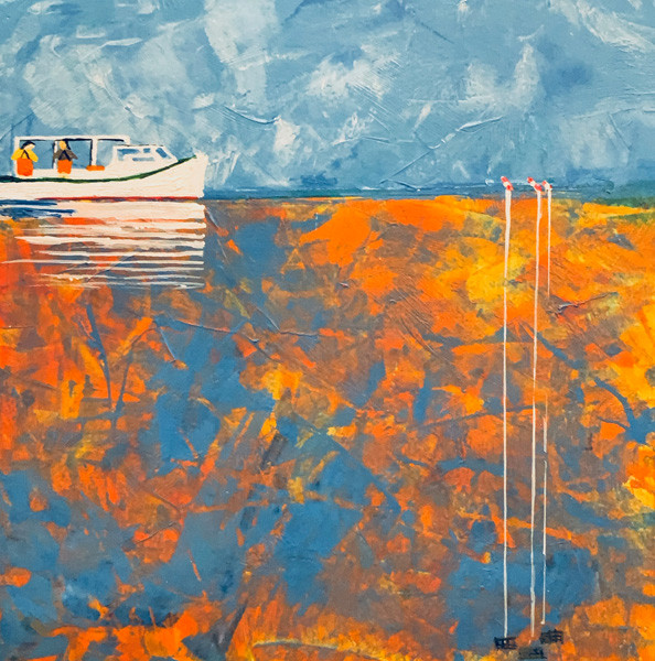 Crabbing The Chesapeake-Contemporary Art