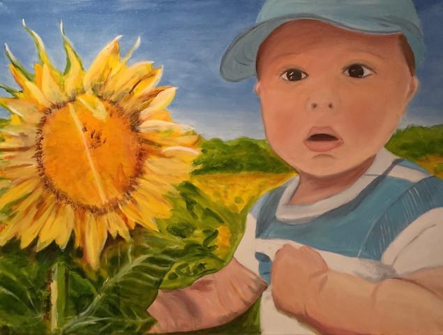 Babies-Commission Portrait-Contemporary Art