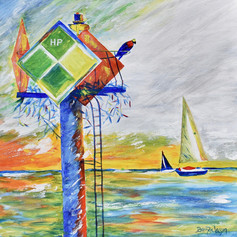 Saturday On The Severn-Annapolis -Contemporary Art