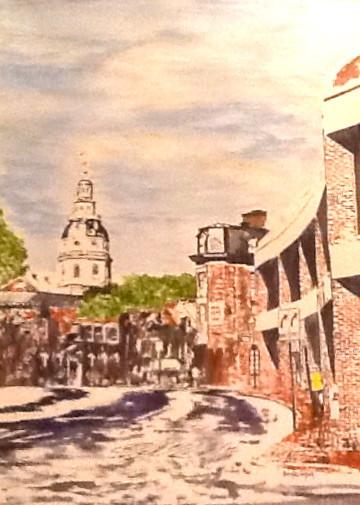 Downtown Annapolis Church Circle-Contemporary Art