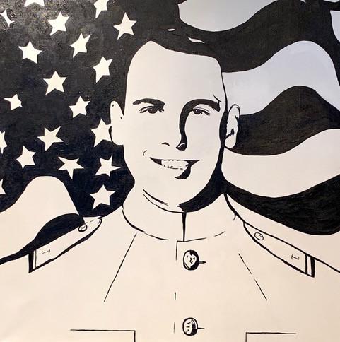 Midshipman-Commission Portrait-Contemporary Art