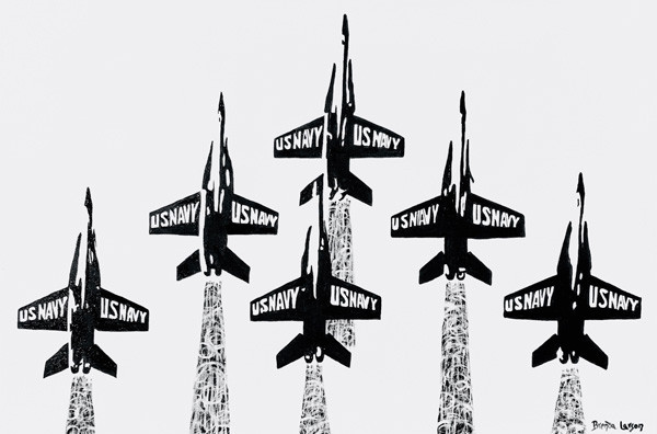 Blue Angels-Annapolis-Naval Academy-Contemporary Art