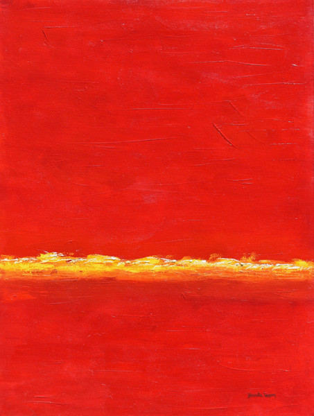 Red River-Abstract Painting-Contemporary Art