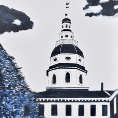 Annapolis State House-Contemporary Art
