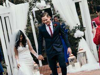 Taevien + Amanda Cuevas Wedding