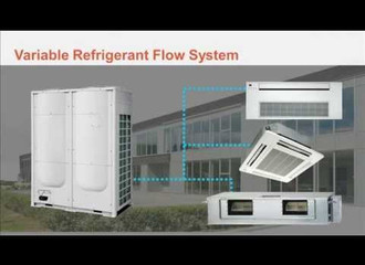 NEW Heat pump VRF system by CoolairAustralia