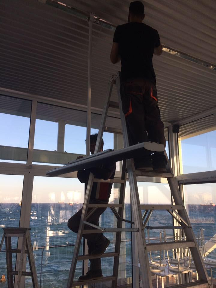 radiant installation 6