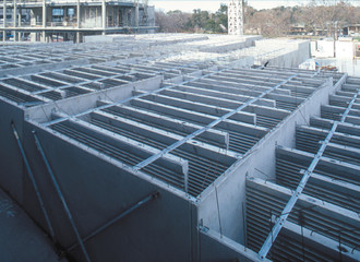 Labyrinth of precast cooling – Harvest the energy below us