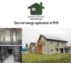 Zero net energy application of PCM