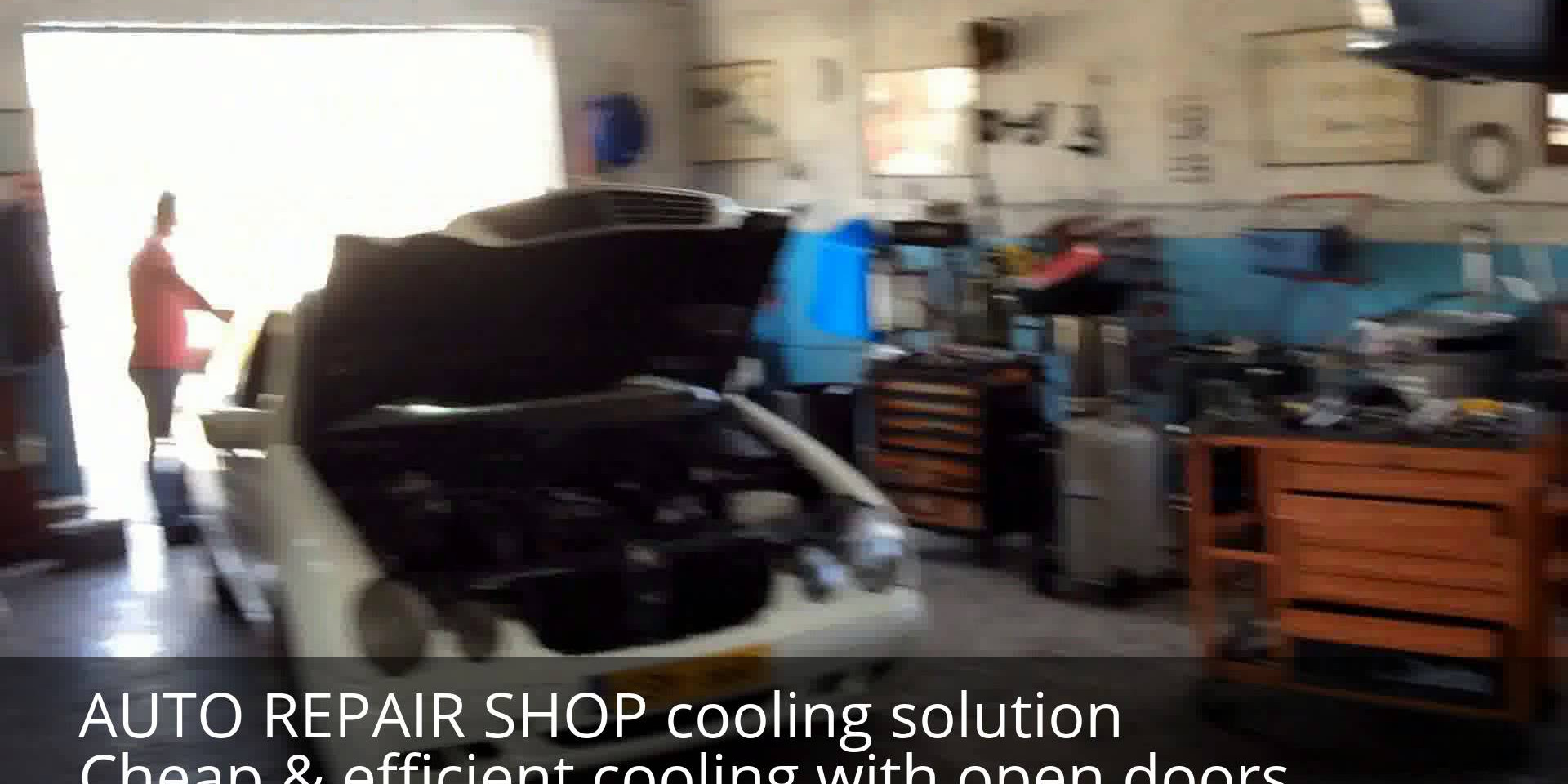 AUTO REAPAIR SHOP COOLING CASE STUDY
