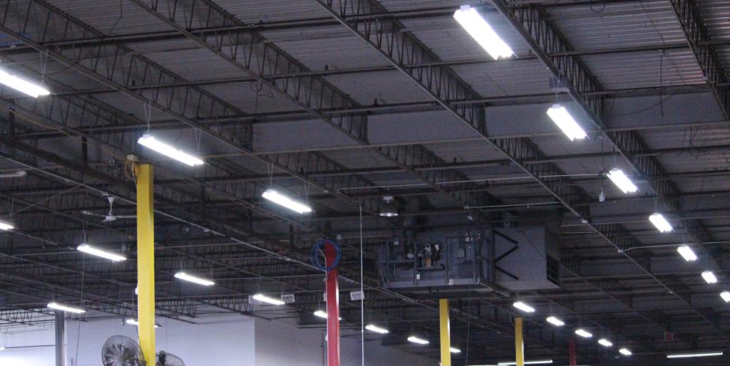 led warehouse