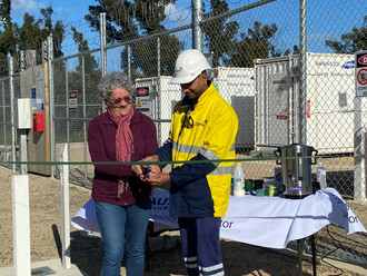 Mallacoota powered by Gippsland's first community battery