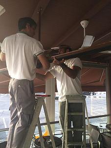 installation radiant heater
