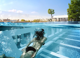 """Melbourne's first suspended residential """"sky pool"""""""