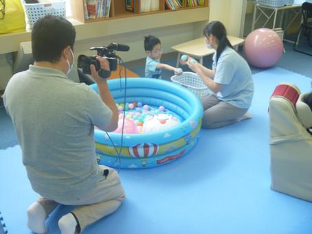 NST新潟総合テレビさんが取材に!。