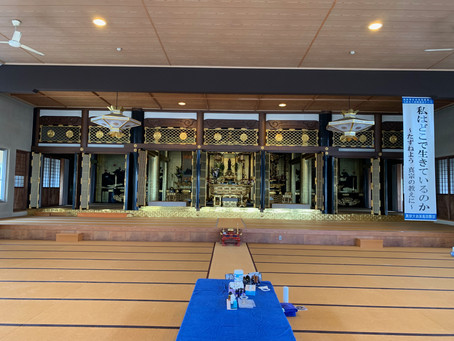 お寺でホコホコ