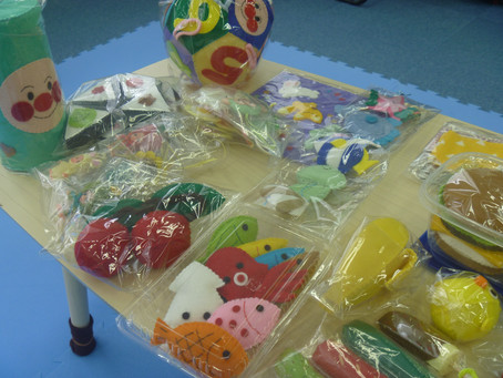 Soraの子供達へ、手作りの贈り物💕