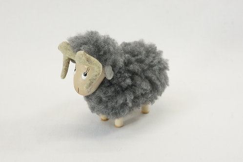羊のフィギュア(グレー)