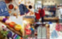 ラトビアにある「TINES」というニット製品を扱うブランドです。綺麗な色合いの商品がたくさん並んでいます。