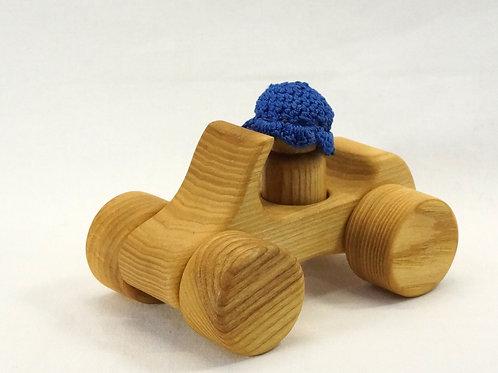 木のおもちゃ_オープンカー