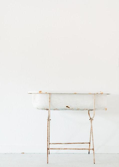 Vintage Tub & Stand